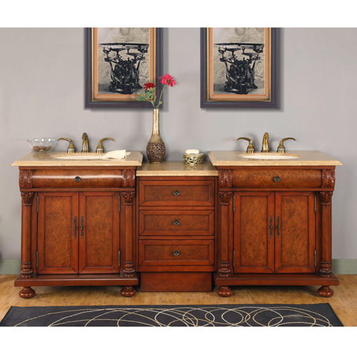 Bathroom Vanity In Mission Hills HYPTL Off - 84 bathroom vanities and cabinets