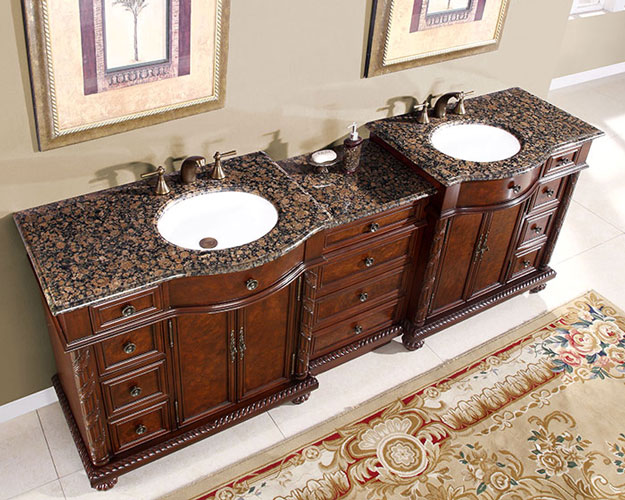 Bathroom vanity in westwood hyp 0213 90 50 - 50 inch double sink bathroom vanity ...