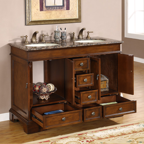 Perfect  Top Single Stone Sink Bathroom Bathroom Vanities With Tops And Sinks